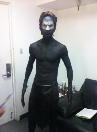 Actor Nathan Champion ready to play a demon